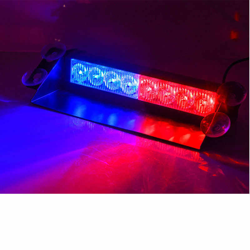 Police Led Lights >> Detail Feedback Questions About Car Dash Stroboscope Flash Lights