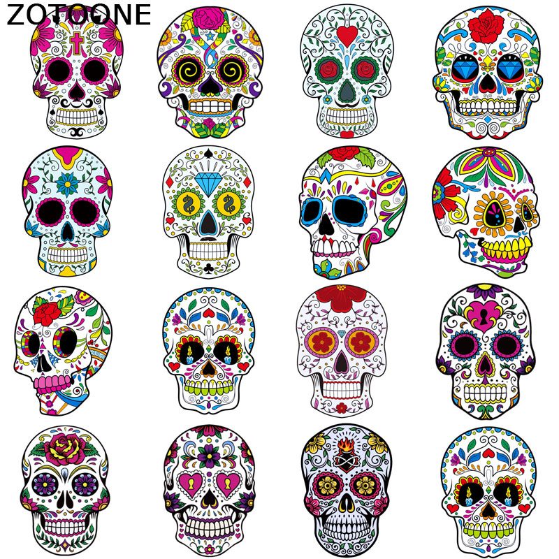 ZOTOONE Clothing stamping DIY childrens clothes patch A grade powder environmental protection washable offset sticker