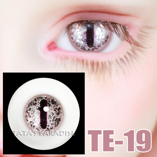 14mm 16mm BJD Eyes black pupil silver Eyeballs  for 1/3 1/4 1/6 BJD SD Ball-jointed Doll uncle 1 3 1 4 1 6 doll accessories for bjd sd bjd eyelashes for doll 1 pair tx 03