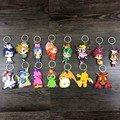 Anime Digital Monsters /Digimon Adventure Figures Agumon,Piyomon,Gomamon,Patamon pvc Figure Keychain Pendant Toys