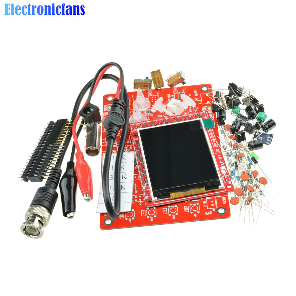 ds0138 oscilloscope revision - DSO138 Digital Oscilloscope DIY Kit 2.4 tft DIY Parts for Oscilloscope Making Electronic Diagnostic-tool Learning Set