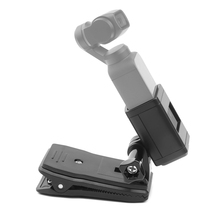 SHOOT for Dji Osmo Pocket Handheld Stand Extension Bracket with Backpack Clip Tripod Holder Mount Accessory
