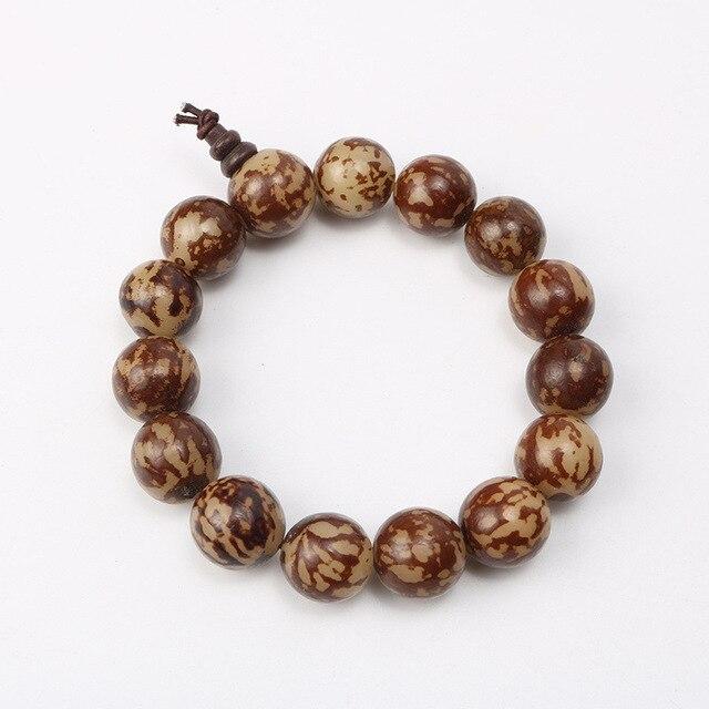 Sandalwood Tibetan Buddhist Prayer Beads Bracelets For Men Buddha Wooden Charm Bracelet Bangle Diy Jewelry Pulseira