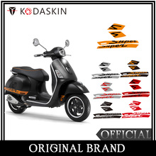 KODASKIN  motorcycle  2D Decal Sticker Super motocross  for Vespa GTS 300 Sport Fits gts 300 accessories