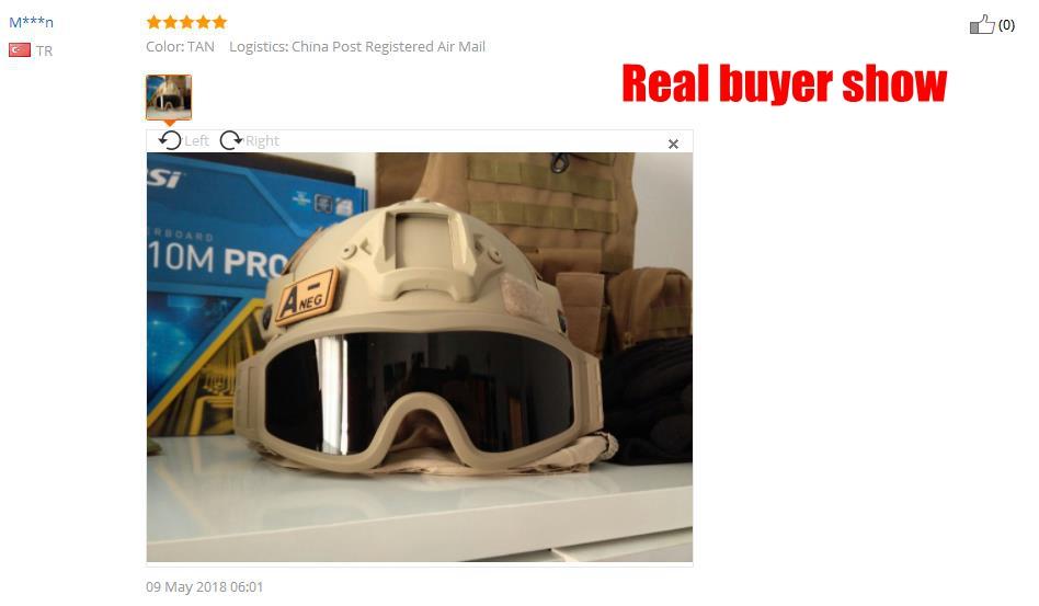 O feedback do Comprador Anterior.    . Tan preto Verde Exército USMC  Airsoft Tactical Goggles Tactical óculos de Sol Óculos Óculos De Paintball f37afbe75b