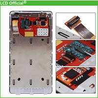 10PCS DHL For Nokia Lumia 800 LCD Screen Display With Touch Screen Digitizer Assembly Frame Free