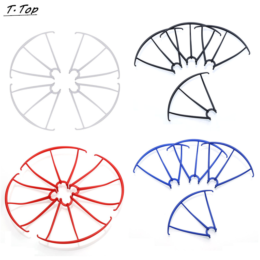 Multi Color Propeller Protectors Frame For SYMA X5C X5C-1 X5 RC Quadcopter Spare Part Free shipping for syma x8c x8w rc quadcopter spare part blade propeller protection frame protector bumper 4pcs free shipping