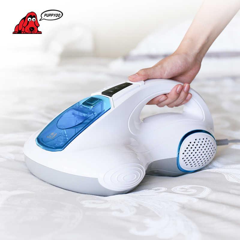 PUPPYOO שואב אבק מיטת בית אספן UV Acarus הרג ביתי שואב אבק לבית מזרן קרדית הרג WP601