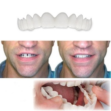 Reusable Adult Snap On Perfect Smile Whitening Denture Fit Flex Cosmetic Teeth Comfortable Veneer Cover Dental Care Accesso