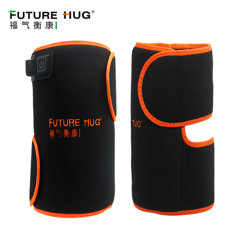 Knee Warm Protector Keep Warm Old Cold Leg Far Infrared Electric Moxibustion Suited for Four Seasons Arthritis Rheumatism electric knee pads moxibustion arthritis old cold leg fever hot compress full cashmere moxa leg warmers