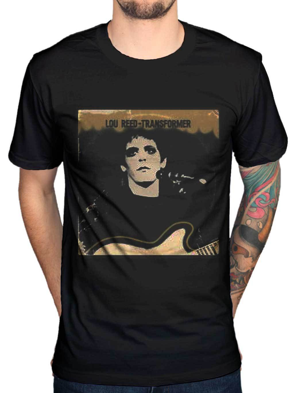 Lou Reed Transformer Vintage Cover Graphic NEW T-Shirt Rock Merchandise