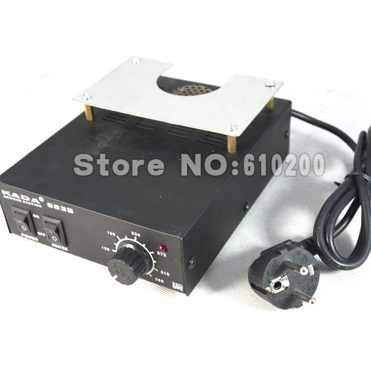 High power ESD BGA rework station PCB preheat and desoldering IR preheating station Soldering Station electric soldering iron puhui t862 irda infrared bga rework station bga smd desoldering rework station free tax to eu
