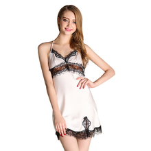 Stain Night Dress Nightgowns Sleeping Dress Vintage Women Night Gown Women Nighties Lounge Sleepwear For Female Home Clothes