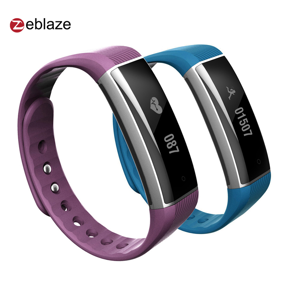 Original Zeblaze ZeBand Bluetooth 4.0 Smart Wristband Heart Rate Monitor Smart B