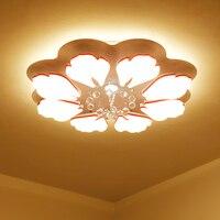 مثالية سقف ليد حديث أضواء لغرفة المعيشة دراسة غرفة نوم المنزل ديسمبر AC85-265V lamparas دي تيكو سقف ليد حديث مصباح