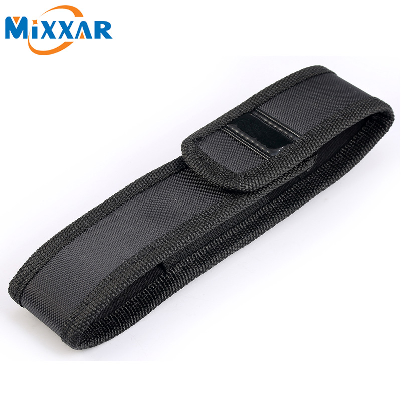 zk40 Torch Case Flashlight Holster Black sleeve Pouch Torch Cover Free Shipping ...