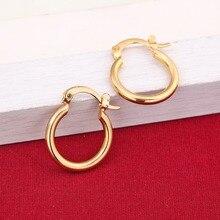 Gold Earrings Ethiopian Golden-Jewelry African Dubai Fashion 24K New-Model Europe
