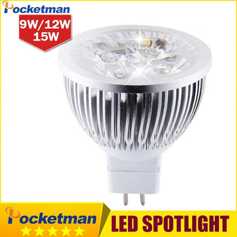 MR16 GU5.3 LED spot licht lampe 12 V 220 V 110 V...