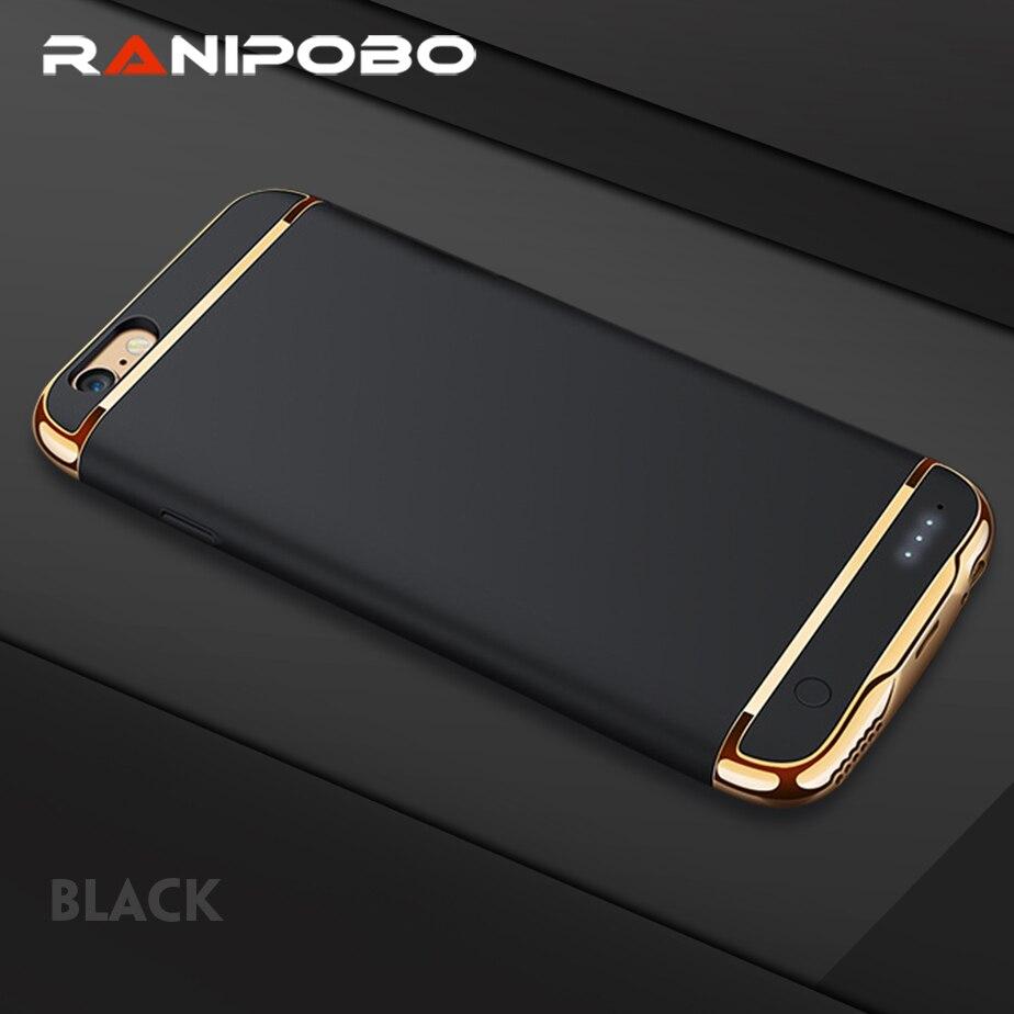 bilder für 3500 mAh Mode Ladegerät Fall Für iPhone 6 6 plus Power Bank Ultra Dünne Externe Unterstützungsbatterie-kasten für iphone 7 7 plus