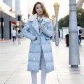 2016 Зима плюс размер одежды женщины мило с капюшоном пальто теплый вышивка хлопка-ватник пальто wadded пиджаки экипировка XXXXL