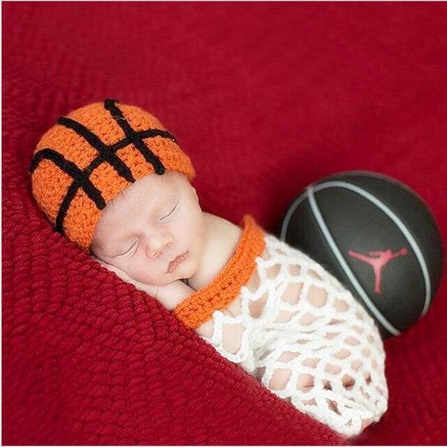 Umweltfreundliche Baby Korb Ball Kostüm Gestrickte Kleinkinder