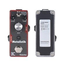 High Quality ENO Metalistik Distortion Guitar Effect Pedal True Bypass design TC-11 Pedal