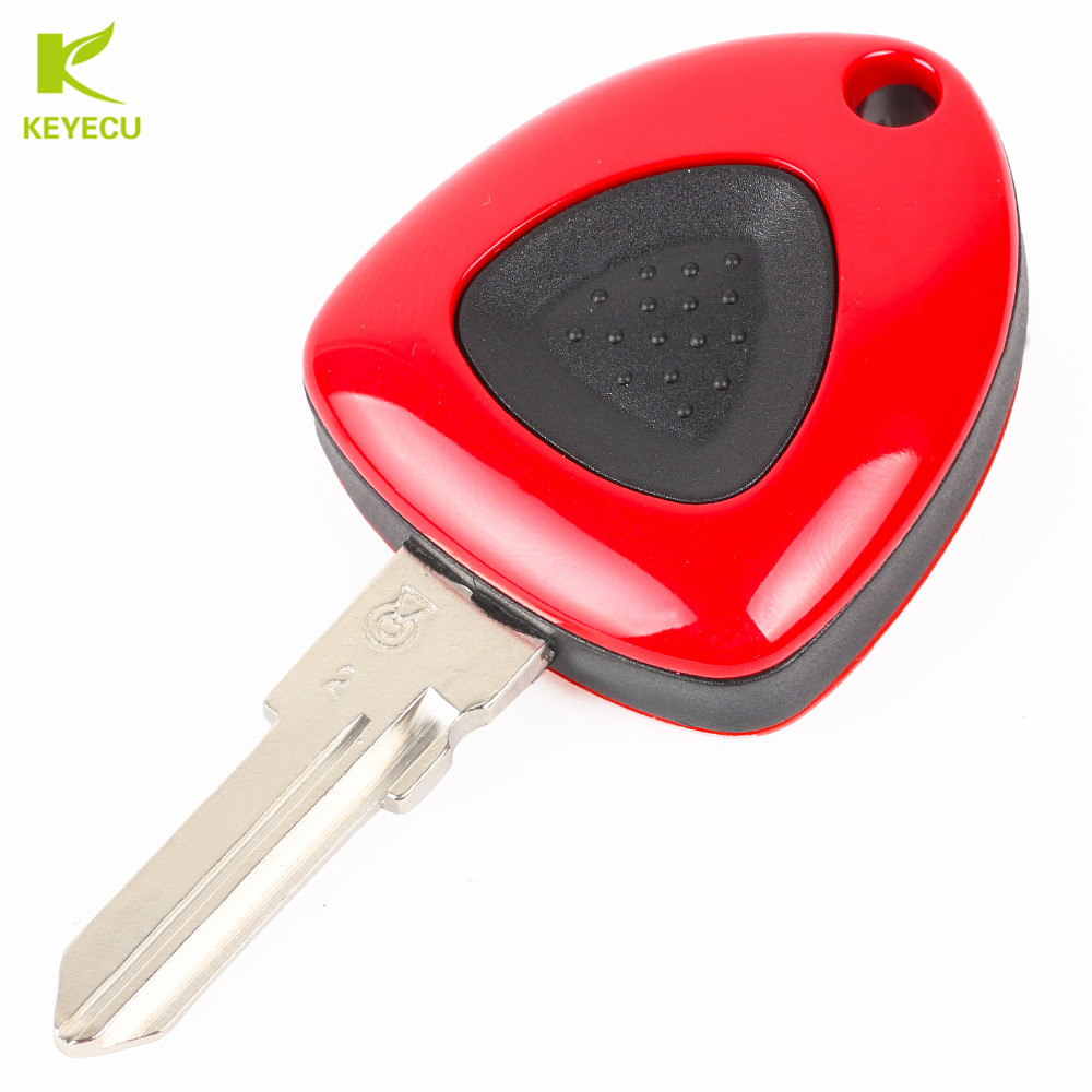 Auto Replacement Parts 4 Button Luxury Remote Key Shell Case Smart Car Key Housing Fob With Insert Small Key For Ferrari 458 588 488gtb Laferrari