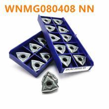 Tungsten Carbide WNMG080404 WNMG080408 NN LT10 External Car Blade Insert CNC Machining Center