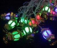 Trung Quốc lồng vàng RGB nhấp nháy LED dây Christmas Lights 4 M 20 Leds cho Xmas sạn Holiday Party trang trí đám cưới AC110V ~ 220 v