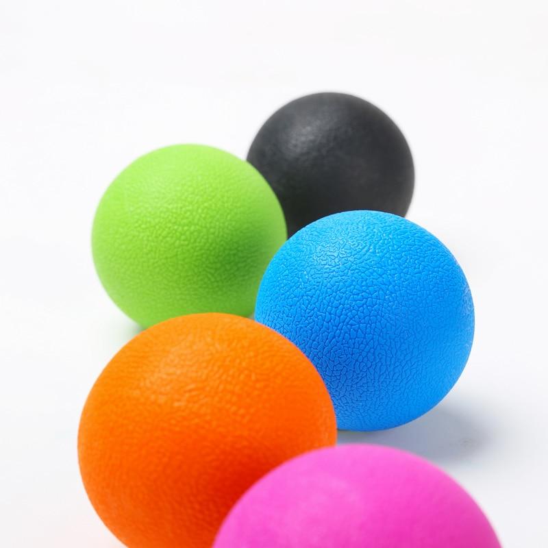 Мяч из ТПЭ для Лакросса, расслабления мышц, упражнений, фитнеса, йоги, арахиса, Массажный мяч, ТРИГГЕРНАЯ точка, снятие стресса и боли