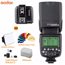 Godox TT685S Speedlite 2.4G TTL Flash Light With X1T-S Wireless Trigger for Sony  A7 A7R A7S II Dslr Cameras Speedlight