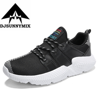 Running Shoes Men Outdoor Sports Sneakers Light Breathable Men Jogging Walking Trekking Trainer Athletic Shoes Plus