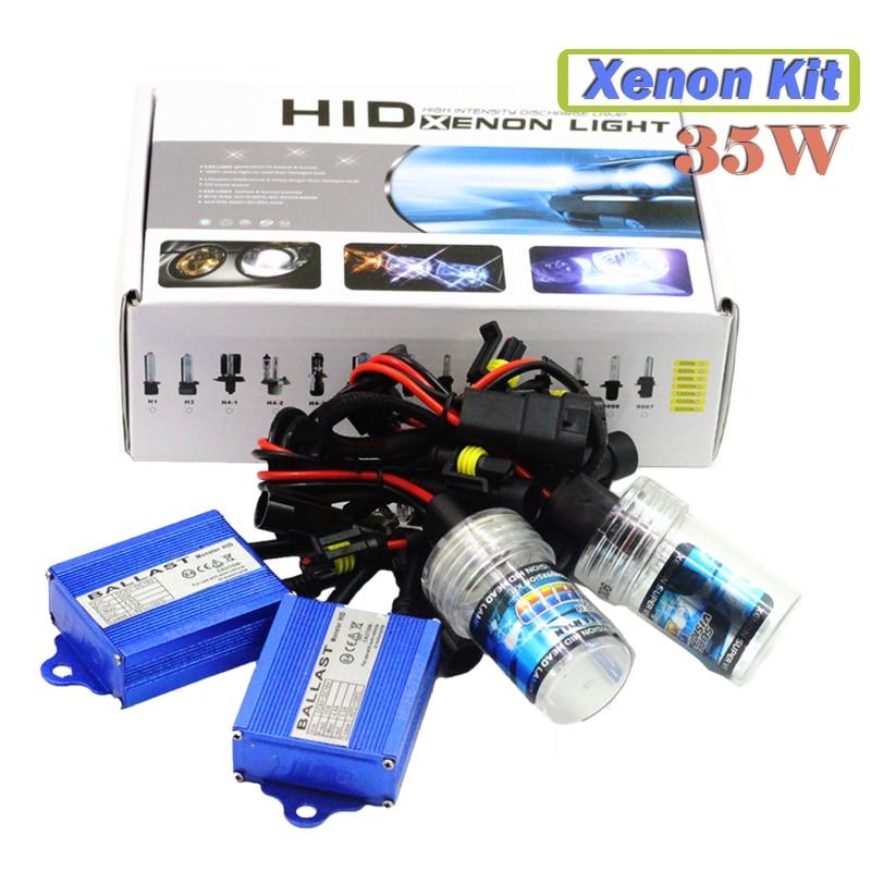 35W H1 H3 H7 H8 H9 H11 9005 HB3 9006 HB4 880 881 HID XENON KIT Ballast + Bulb 4300K Warm White Car Headlight Fog Light DRL