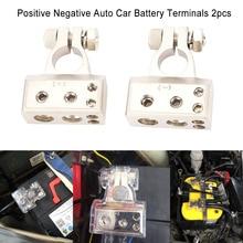 2 шт. 4/8 калибра положительные и отрицательные Авто Батарея терминалы