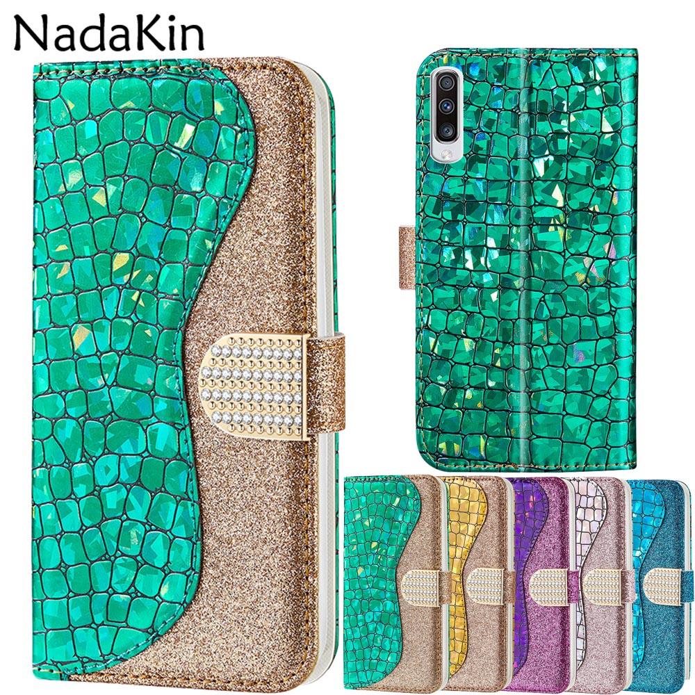 Luxe Strass Diamant Étui Coque pour Samsung Galaxy A10 A20 A30 A40 A50 A60 A70 A20E M10 M20 M30 A8 A7 2018 A3 A5 2017