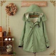 cotton Japanese kimono doudoune femme chaquetas vintage ethnic hippie boho denim hooded thick wool autumn winter coat jacket