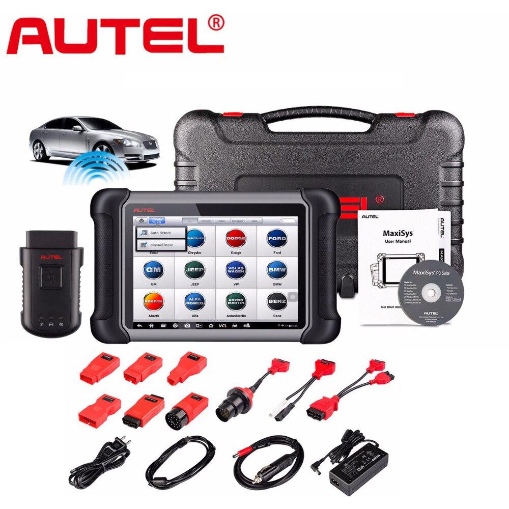 Autel MaxiSys MS906BT MS906 BT Wireless OBD2 Car Diagnostic-Tool OBD 2 Autoscanner Better than DS708 Auto Diagnostic Tool