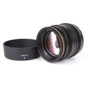 Image 5 - Kamlan Lens 50 Mm F1.1 APS C Grote Diafragma Handmatige Focus Lens Voor Canon EOS M Nex Fuji X M4/3 camera S Met Zonnekap