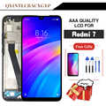 LCD Original de calidad AAA para Xiaomi Redmi 7 LCD con pantalla de visualización de marco para pantalla de Redmi 7 con marco