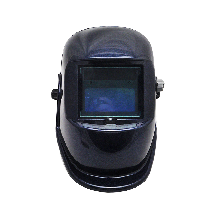 Hot!!! Pro Solar Auto Darkening Welding Helmet Arc Tig Mig Mask Grinding Welder Mask din7 din12 shading area solar auto darkening welding helmet protection face mask welder cap for zx7 tig mig welding machine