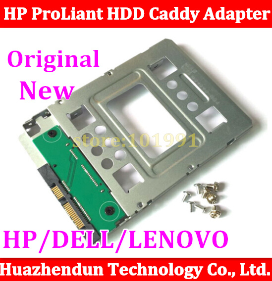 Support all Server New 2.5 to 3.5 SATA HDD SSD Hard Disk Hot Swap Carrier Caddy Tray Adapter GEN8/N54L CAGE
