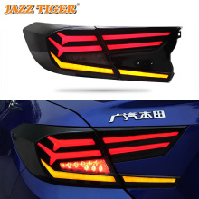 лучшая цена Car Styling For Honda Accord 2018 2019 LED Tail Light Tailight Dynamic turn signal+Brake Light+Fog Lamp+Daytime Running Light