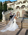 New Elegant White Ivory 3 M 1 Tier Long Floor Bridal Veil With Comb Cathedral Wedding Veils Wedding Dress Accessories