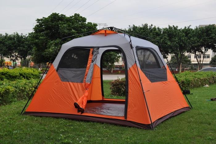 Stor plass 6 person ett rom øyeblikkelig oppsett høy kvalitet - Camping og fotturer - Bilde 2