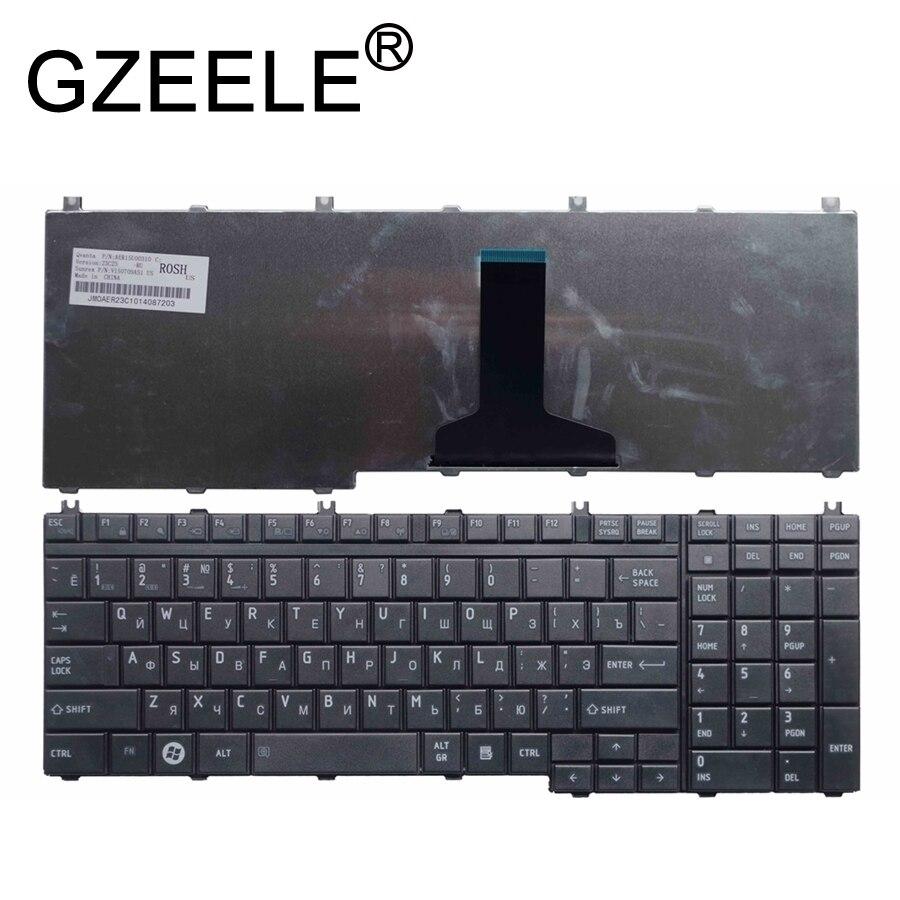 Русская клавиатура GZEELE для Toshiba Qosmio G50 G55 F60 X205 X305 X505 F750 F755 pk130731b11 RU черная клавиатура