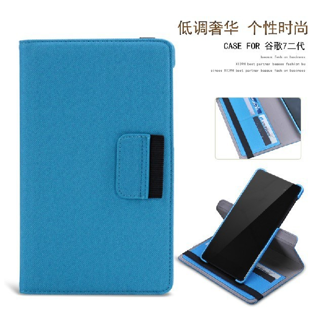 Nexus 7 2th Stand Case For 2013 Google Nexus 7 second generation tablet Cover Case with protector+protec high quality x line tpu case cover skin soft gel for google nexus 7 ii 2 2013 2nd 2 generation free shipping