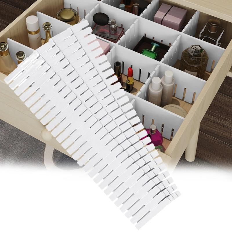 Adjustable Clapboard Drawer Divider Partition Storage Wardrobe Storage Organizer XHC88