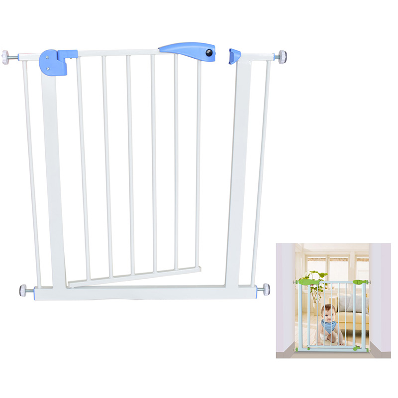 Baby Safety Door Baby Gate Kids Child Fence Gate Fencing For Children Baby  Pet Fence Baby Fence Stairs For Door Width 74 87cm In Gates U0026 Doorways From  ...
