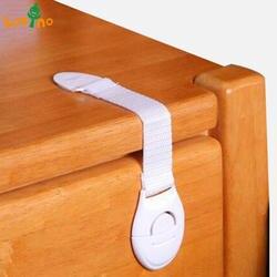 10 шт./лот детский замок Защита детей запирающиеся двери для Детская безопасность дети пластиковый замок Лидер продаж