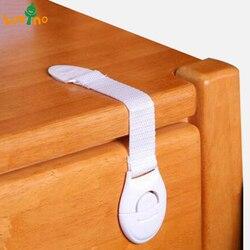 10 pçs/lote Proteção de Bloqueio para Crianças De Crianças De Travamento das Portas Para Crianças Crianças De Segurança Plastic Bloqueio best selling